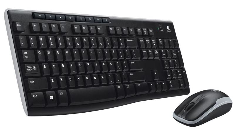 CLAVIER Logitech Wireless Desktop MK27