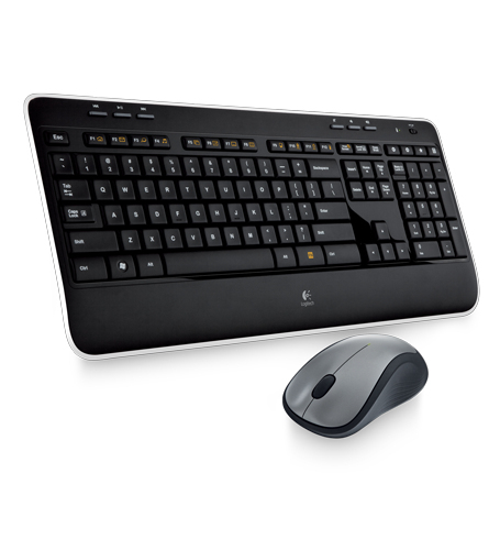 CLAVIER LOGITECH Wireless Combo MK520