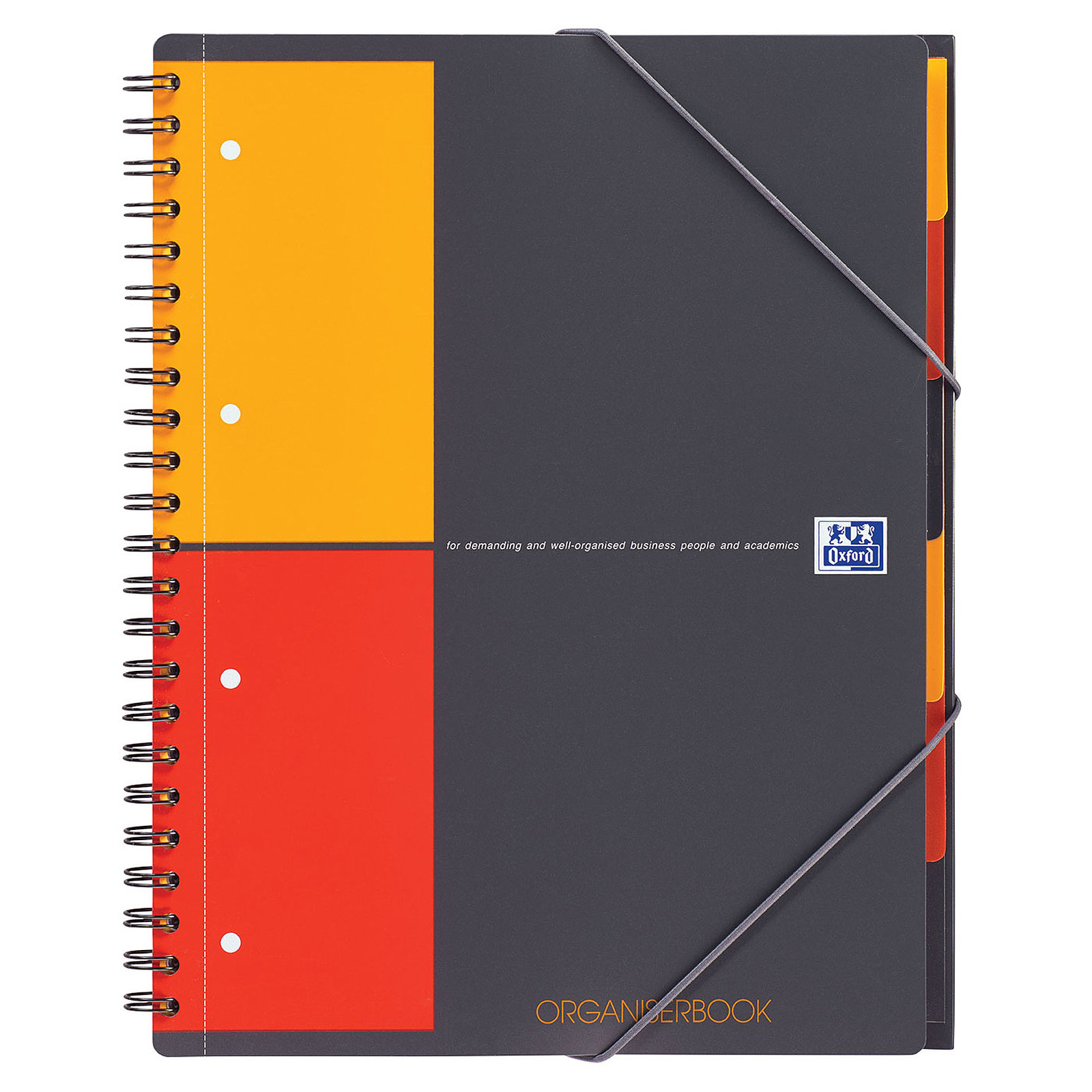 CAHIER OXFORD A4 5*5 ORGANISER BOOK160 PAGES