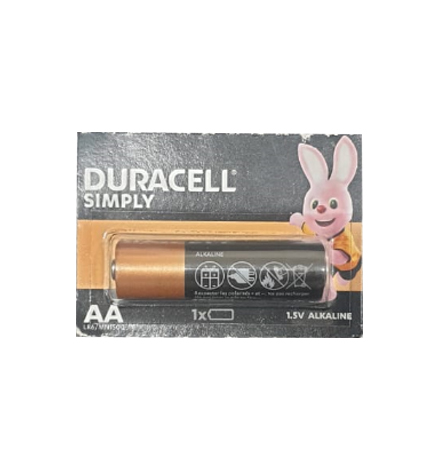 PILE DURACELL/ENERGIZER AA 1.5V LR6/MN1500