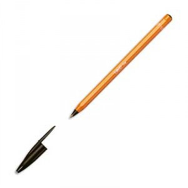 STYLO BIC ORANGE NOIR