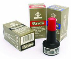 ENCRE A TAMPON ARROW ROUGE/EXPRESS /OMA
