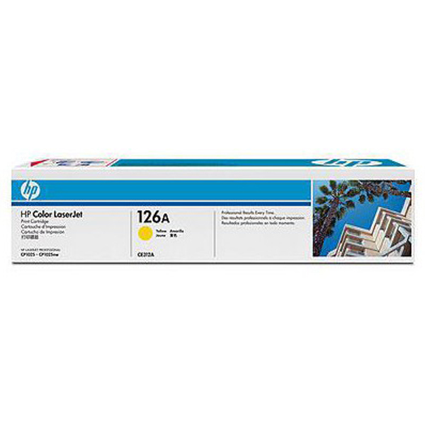 TONER HP LASER CE312A YELLOW