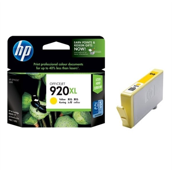 CARTOUCHE HP 920XL CD974A YELLOW